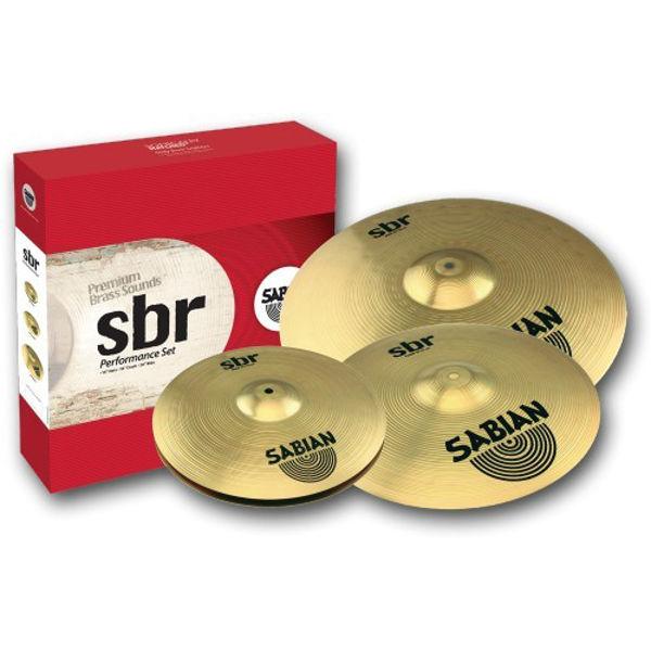 Cymbalpakke Sabian SBR 5001, 13-16, First Pack