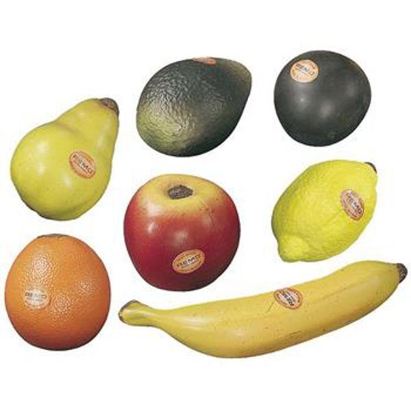 Shaker Remo Fruit Sett m/7 Stk. Frukter