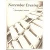 November Evening, Christopher Norton, Solo Marimba