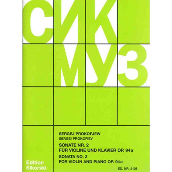 Prokoviev - Sonata No. 2 for Violin and Piano Op 94A