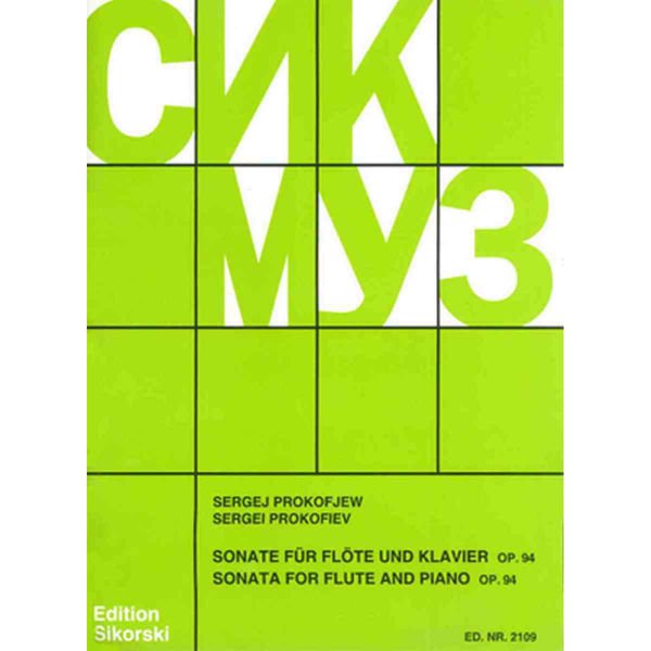 Prokoviev - Sonata for Flute and Piano Op 94