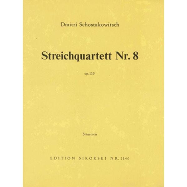 Shostakovich - String Quartet No. 8, op. 110