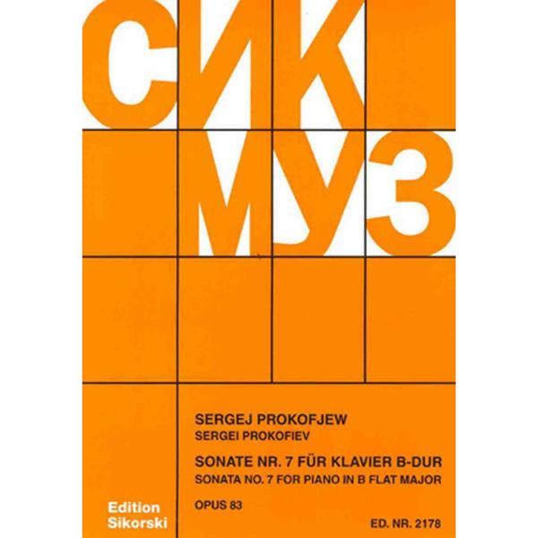 Prokofiev Sonate Nr 7 op 83 for Piano