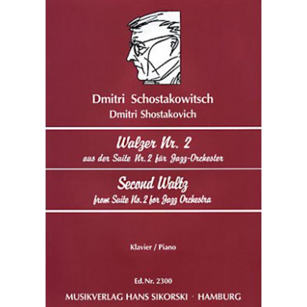Schostakowitsch Second Waltz from Suite nr 2 for Jazz Orchestra. Piano  (Shostakovich)