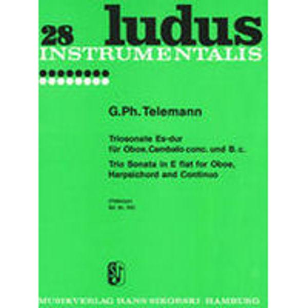 28 Ludus Instrumentalis, Trio Sonata in E Flat for Oboe, Harpsichord and Continuo, Telemann