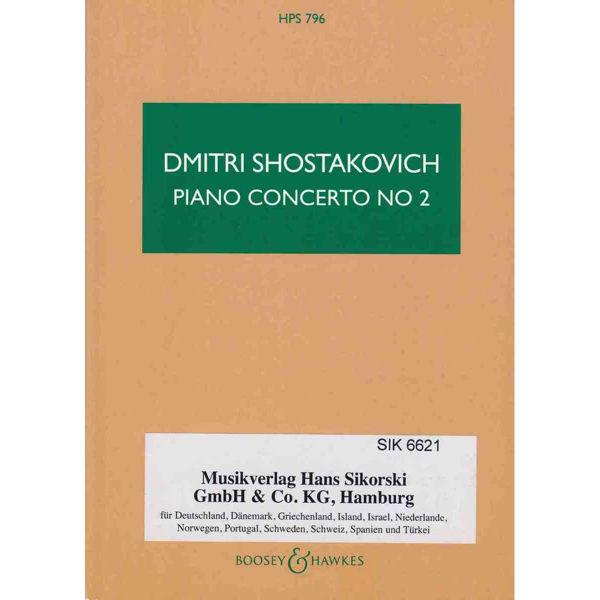 Schostakowitsch Piano Concerto No. 2, Opus 102. Short Score (Shostakovich)