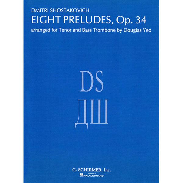Shostakovich - 8 Preludes for tenor and bass trombone