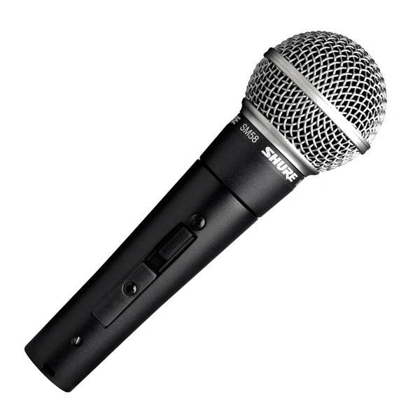 Mikrofon Shure SM58SE M/Bryter, Vocal