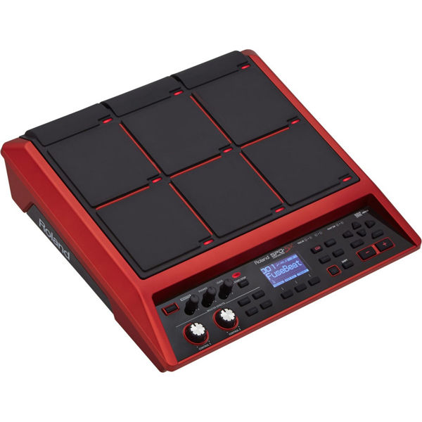 Trommepad Roland SPD-SX-SE, Samplingpad Special Edition, Red