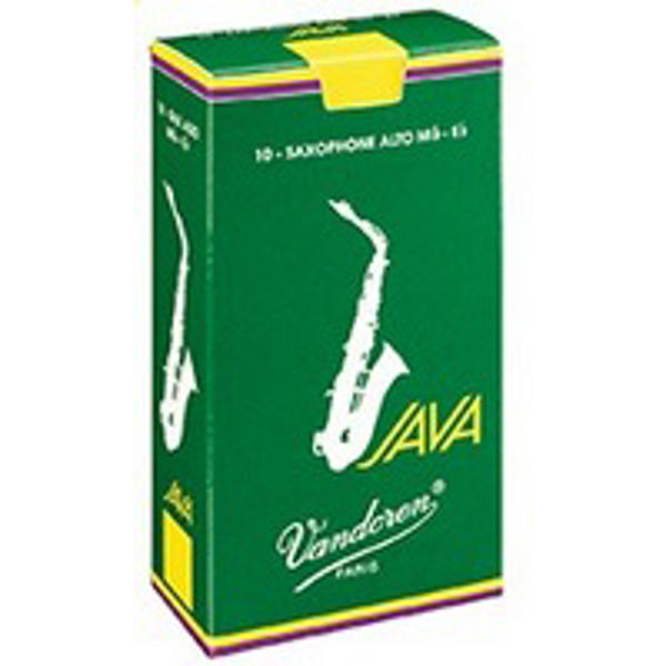 Altsaksofonrør Vandoren Java Grønn 4