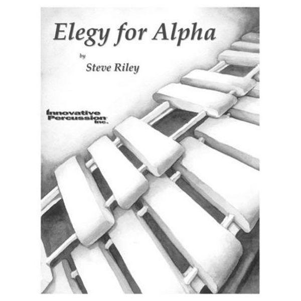 Elegy For Alpha, Steve Riley, Solo Marimba