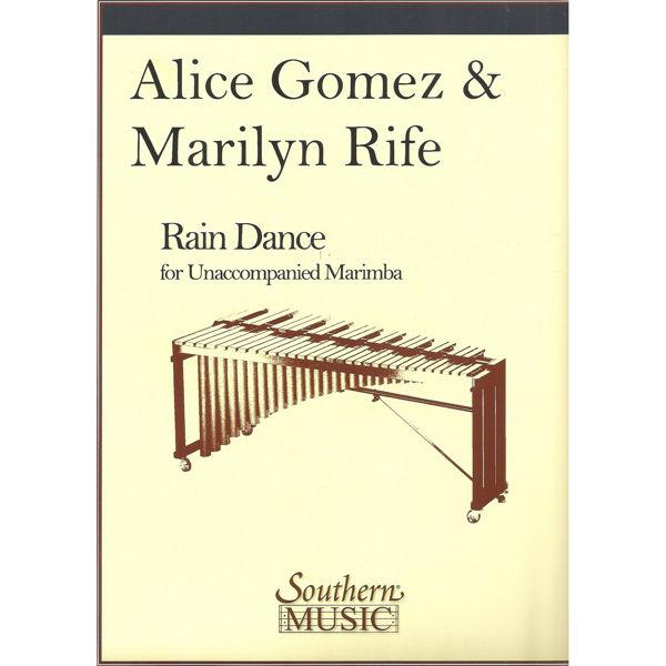 Rain Dance, Alice Gomez & Marilyn Rife. Marimba Unaccompanied