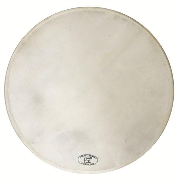 Trommeskinn Stern Tanning, Calf Head, White, 17/44cm u/Woodhoop