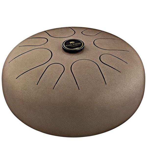 Steel Tongue Drum Meinl, STD3VB, G-Major, G3 - B3 - D4 - E4 - G4 - A4 - B4, Vintage Brown