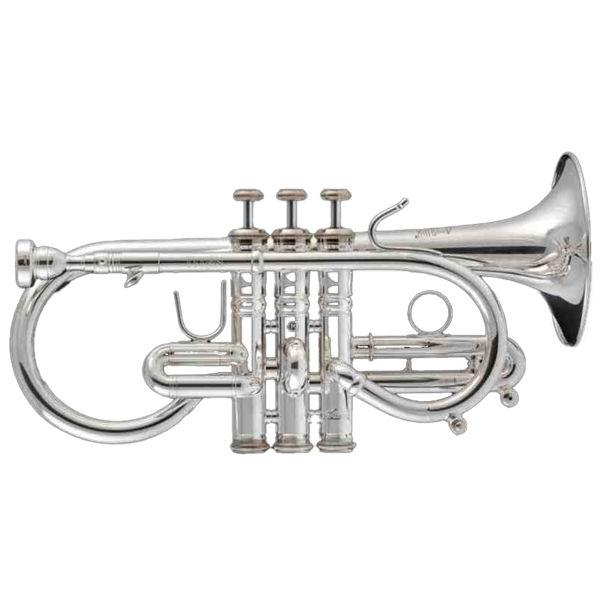 Kornett Stomvi Eb Titan Gold Brass Bell Silverplated
