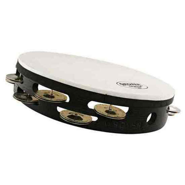 Tamburin Grover T2/GS-T, Tunable Tambourine m/Bag 10, Calf Head