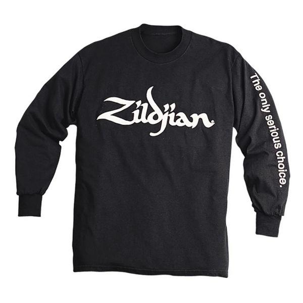 Genser Zildjian T4124, Long Sleeve, XL, Black