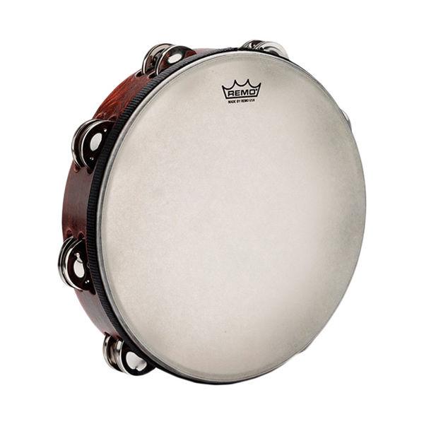Tamburin Remo TA-3010-81 Dobbel, Gospel, m/Skinn 10