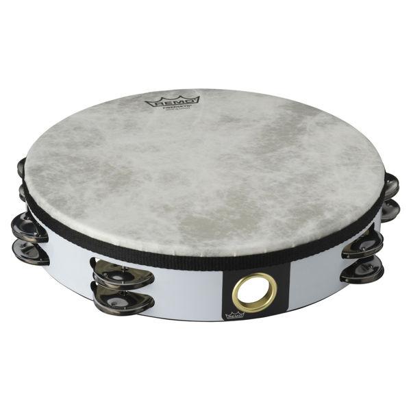 Tamburin Remo TA-5210-70 Dobbel m/Skinn 10