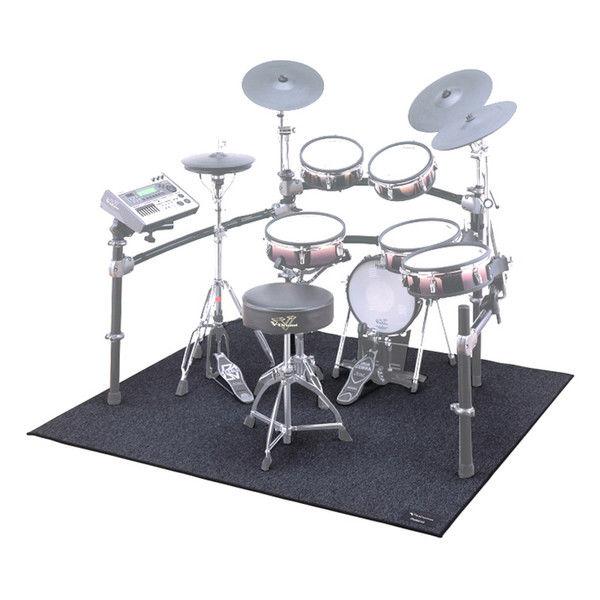 Trommeteppe Roland TDM-20, V-Drums matte, 1,5m x 1,6m