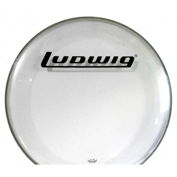 Tillegg Ludwig Trommeskinn Remo PS3 Clear, Batter