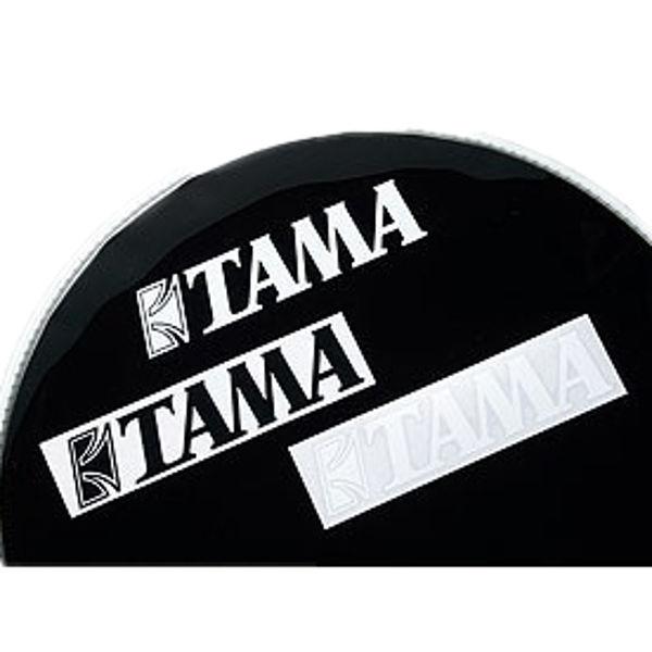 Logo Tama TLS100WH, White, Til Stortrommeskinn