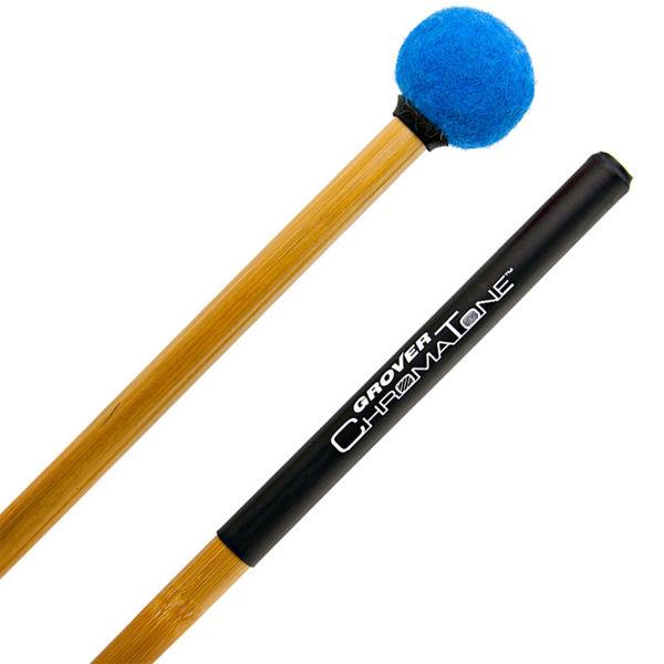 Paukekøller Grover ChromaTone Bamboo TMB-C12, Legato, Sapphire Blue