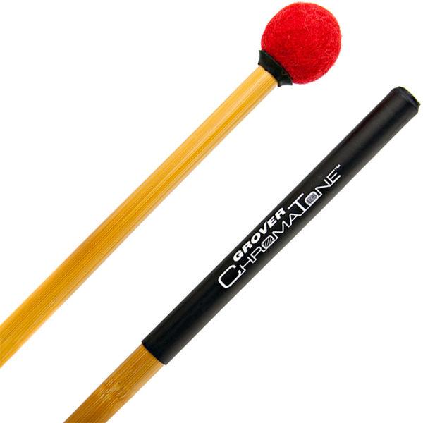 Paukekøller Grover ChromaTone Bamboo TMB-C13, Lite Staccato, Ruby Red