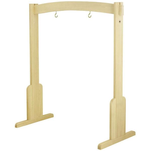 Gongstativ Meinl TMWGS-M, Medium Gong/Tam-Tam Stand, Beech Wood, To 32/81cm Size
