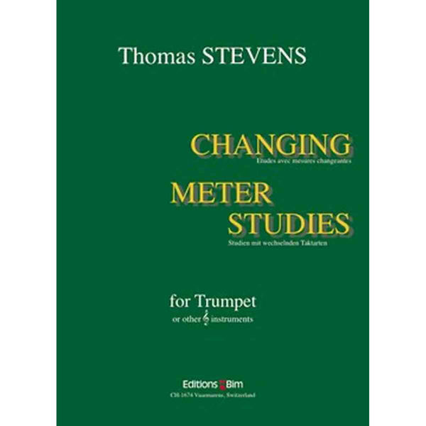 Changing Meter Studies for Trumpet, Stevens