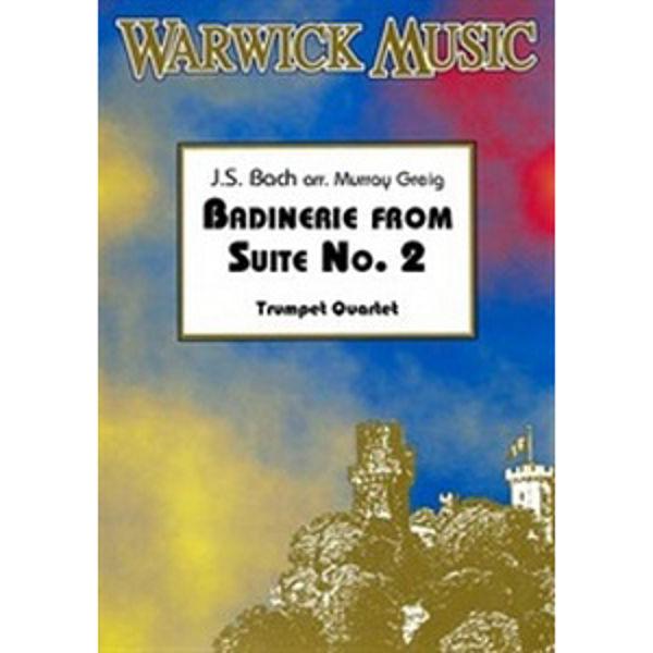 Badinerie From Suite No. 2 - Bach - For Trumpet Quartet