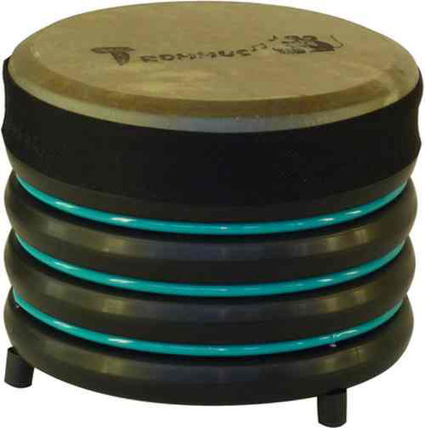 Pedagogtromme Trommus B1u, 19x22cm, Turquoise, 0,5kg, w/Natural Skin