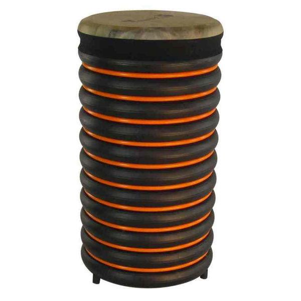Pedagogtromme Trommus C3u, 53x28cm, Orange, 2,2kg, w/Natural Skin