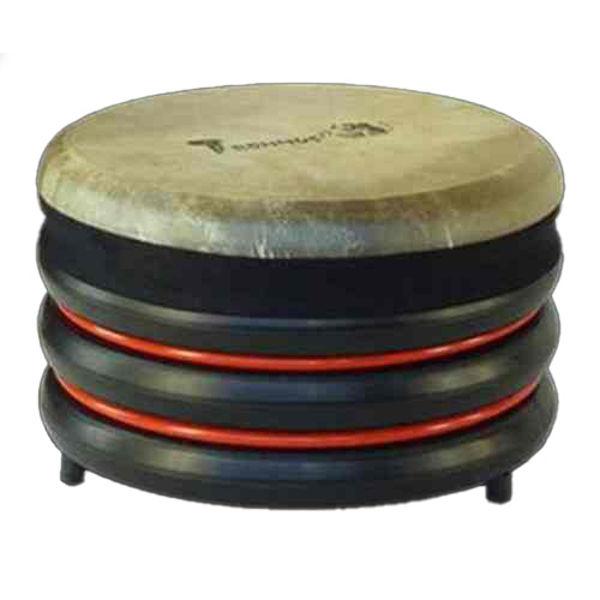 Pedagogtromme Trommus D1, 22x34cm, Red, 1,5kg, w/Adjustable Natural Skin