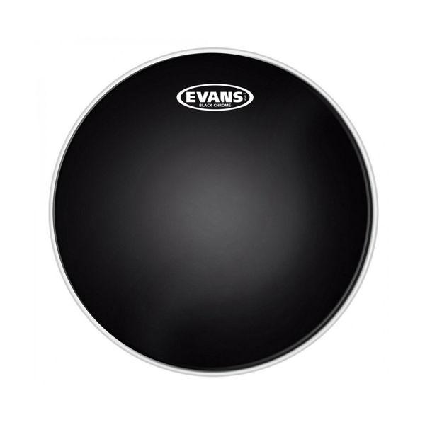 Trommeskinn Evans Black Chrome, TT06CHR, 6