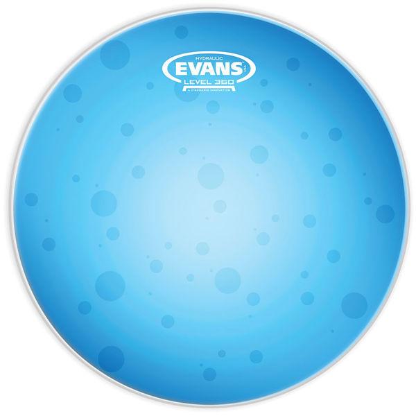 Trommeskinn Evans Hydraulic Oil, TT08HB, Blue 8