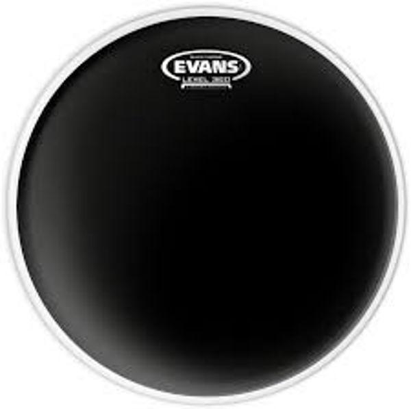 Trommeskinn Evans Black Chrome, TT15CHR, 15
