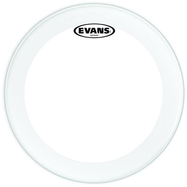 Stortrommeskinn Evans EQ4, TT16GB4, Batter Clear 14, For Triple Flanged Hoop