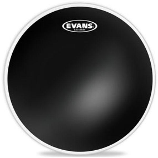Trommeskinn Evans Black Chrome, TT18CHR, 18