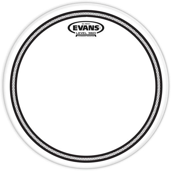 Trommeskinn Evans EC Resonant TT18ECR, Clear 18
