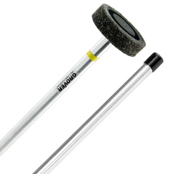 Gongklubbe Grover TT-5A, Wind Gong/Tam-Tam Mallet, Aluminum, Black