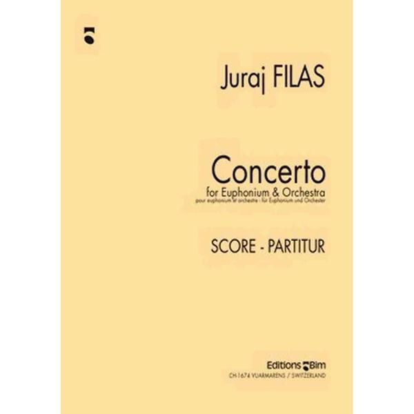 Concerto for Euphonium - Julraj Filas