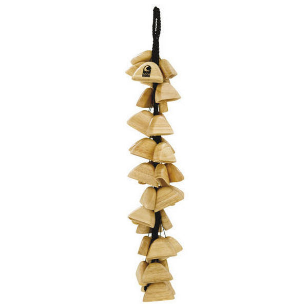 Wood Rattle Toca T-WRS On String