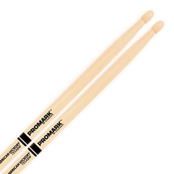Trommestikker Pro-Mark American Hickory Lakk 5AB, TX5ABW, Wood Tip