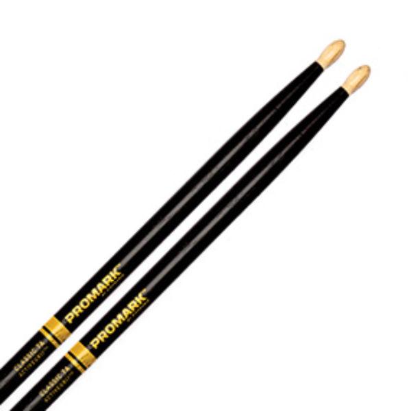 Trommestikker Pro-Mark ActiveGrip 7A Hickory, TX7AW-AG, Wood Tip