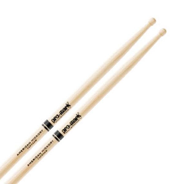 Trommestikker Pro-Mark American Hickory Lakk 5A Pro Round, TXPR5AW, Wood Tip