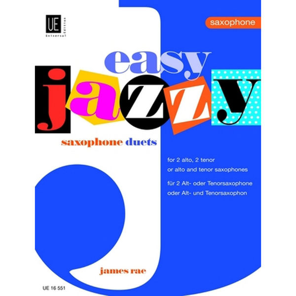 Easy Jazzy Duets for Saxophones