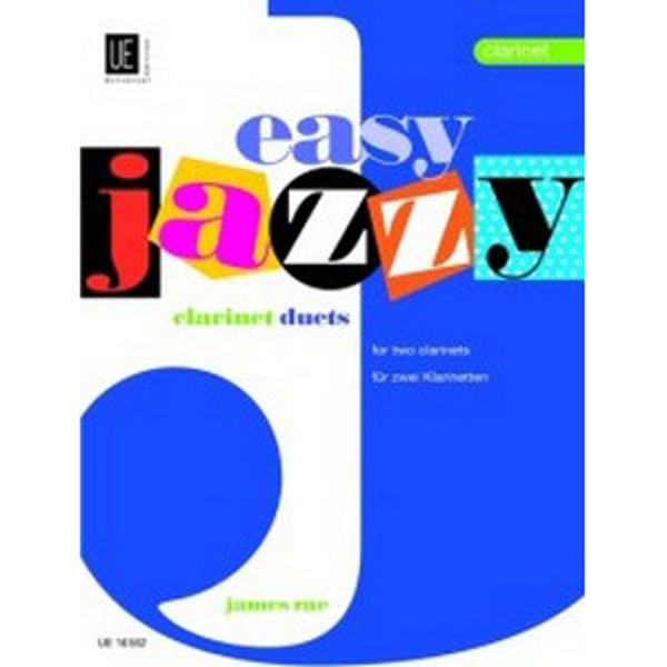 Easy Jazzy Duets for Clarinets