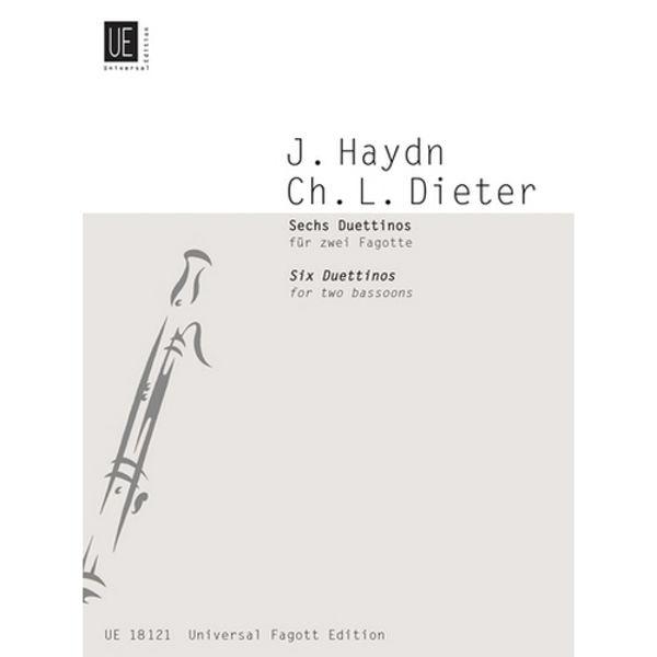 6 Duettinos for 2 Bassoons Joseph Haydn arr Christian Ludwig Dieter