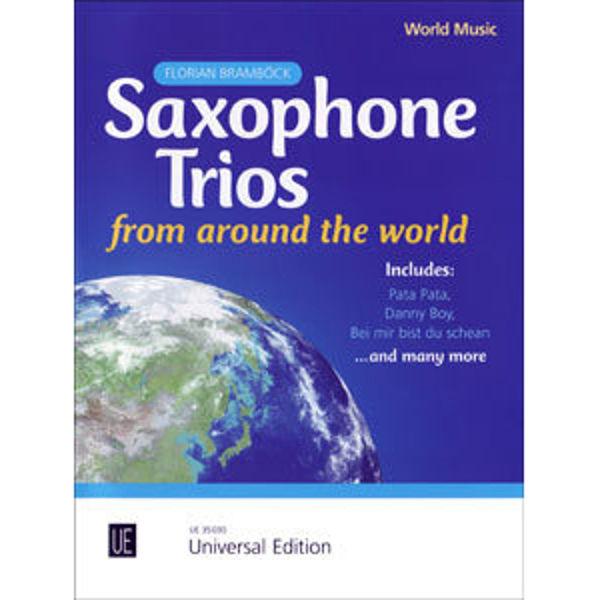 Florian Bramböck: Saxophone Trios from around the world